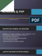 Mongobd y PHP