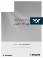Refrigerador Bottom Freezer Samsung Inox Look - RL4353JBASL - Manual