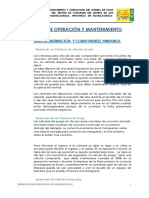 Manual Operación y Mantenimiento