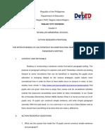 Action Research Proposal-Arceli Margie