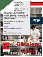 catalogo chef