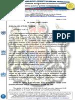 UN Ecosoc Global Directives