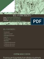 TECNOLOGÍA MATERIALES - EL CONCRETO.pptx
