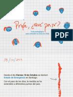 Guía Pedagógica Para Entender La Crisis en Chile