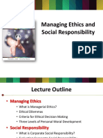 Managing Ethics and Social Responsibility Chapter 4 8e
