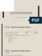 Introducere in HTTP
