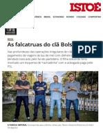 As Falcatruas Do Clã Bolsonaro - IsTOÉ Independente