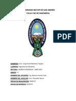 Recristalización y puntos de fusión