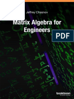 Matrix Algebra for Engineers