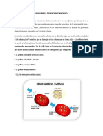 Bioquímica Del Paciente Anémico