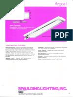 Spaulding Lighting Vegas I Fluorescent Spec Sheet 4-86