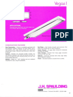 Spaulding Lighting Vegas I Fluorescent Spec Sheet 6-77