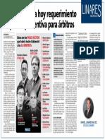FISCALÍA REQUERIMIENTO DE PRISIÓN PREVENTIVA PARA ÁRBITROS