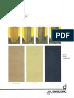 Spaulding Lighting Designer Group Chroma Paint Color Chart 6-77