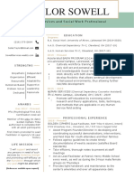 taylor sowell resume