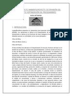 El Estudio de Impacto Ambiental Fue Aprobado El 14 de Diciembre Del 2010 Mediante La Resolución Directoral Nº 411 2010 MEM
