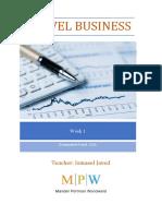 As Business Week 1 Booklet