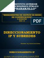 Direccionamiento Ip y subredes
