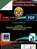 4diapo- Cuarta Semana - Derecho Administrativo