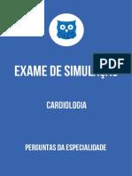 EXAME DE SIMULAÇÃO CARDIOLOGIA