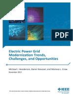Electric Power Grid Modernization