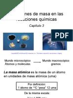 Sesión 1_Relaciones de Masa en Las Reacciones Químicas