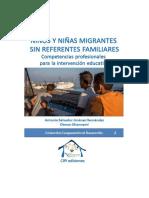 Niños y niñas migrantes sin referentes familiares