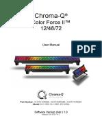 Color Force II 12™ User Manual V1.2