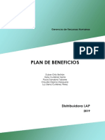 PLAN DE BENEFICIOS