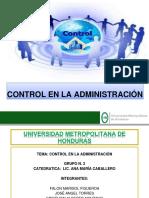 Presentacion Control en La Administracion