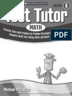 Scholastic Test Tutor Math 6