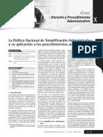 03 03 Morante Guerrero - Política Nacional de Simplificación Administrativa