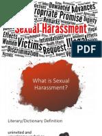 Anti Sexual Harrassment