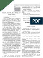 03 01 Decreto Supremo 054-2018-PCM - Lineamientos de Organización Del Estado