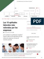 Las 10 aptitudes laborales más valoradas por las empresas.pdf