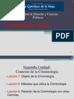 Criminología 3-Diapositivas Resumen