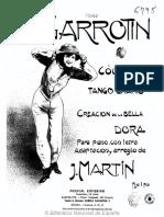 El Garrotín couplet-tango gitano