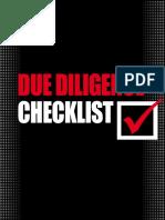 DueDiligenceChecklist US