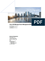 Cisco UCS Manager Server Management Guide