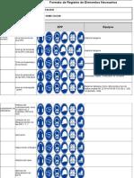 Formatos Necesarios e Innecesarios - Primera Ese --Oficinas