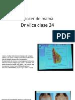 Clase 24 Cancer de Mama Dr Vilca