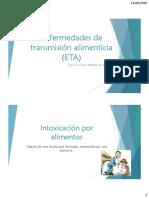 Enfermedades de Transmisión Alimenticia (ETA)