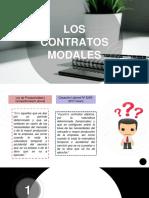 CONTRATOS MODALES