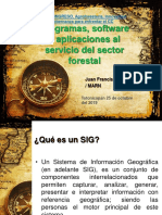 SIG Al Servicio Del Sector Forestal
