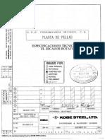 m04-1 Especificaciones Tecnicas Para El Secador Rotatorio