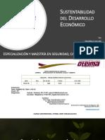 Sustentabilidad del Desarrollo Económico - Presentacion