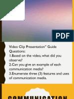Communication Media Channels