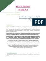 ARTE PARA SALA DE 5