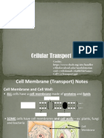 Cellular Transports