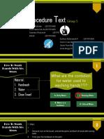 game procedure teks